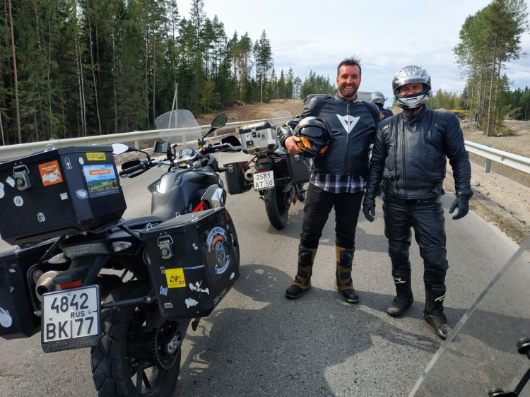 Entering Karelia Region