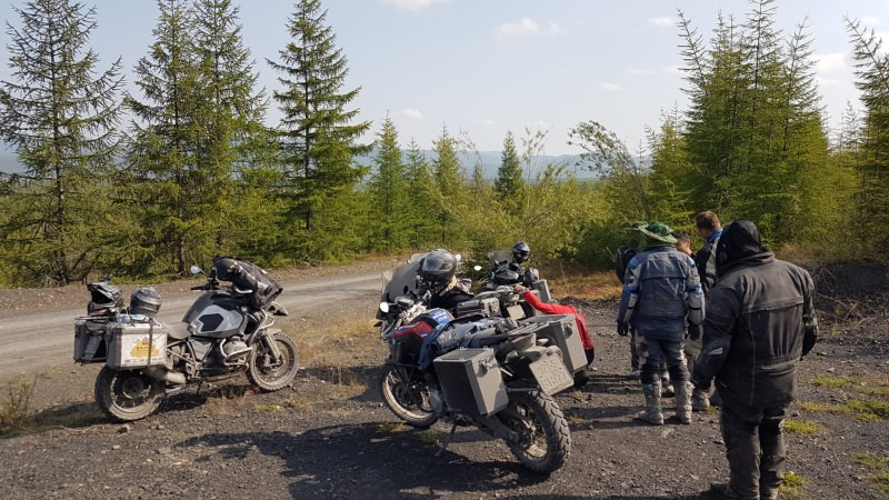 Road on Bones Rusmototravel motorcycle tour BMW