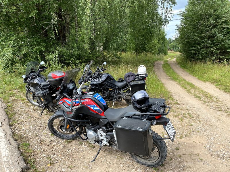 Ride report of the second Seliger-Valdai, tour, August 2020
