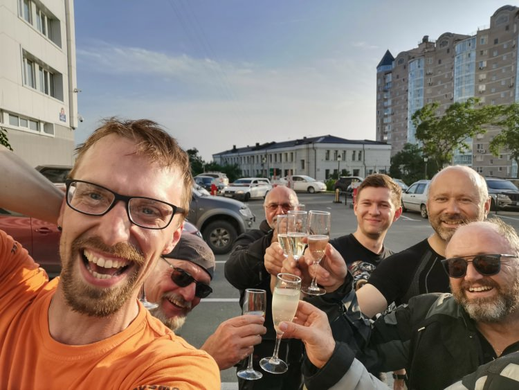 Ride report, Moscow-Vladivostok 1-25 July 2020, Ride Report. Siberia has shown its character