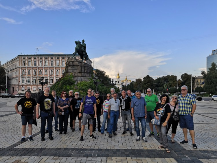 Moscow-Saint-Petersburg tour with Rusmototravel, July 2019
