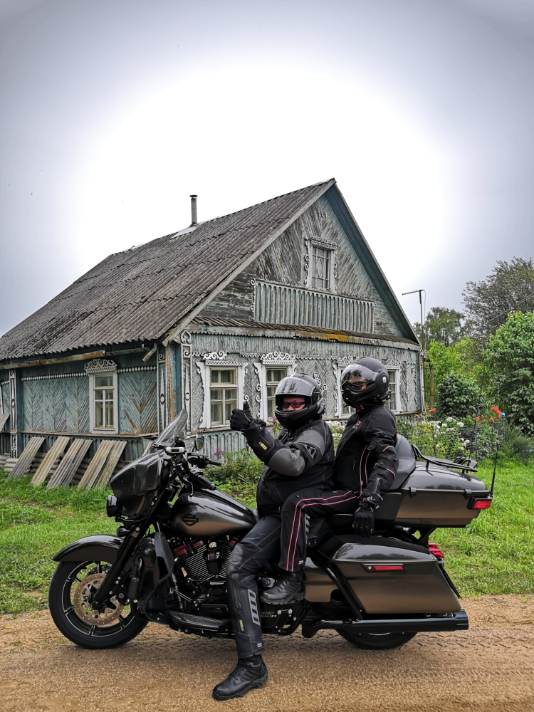 Saint-Petersburg-Moscow Motorcycle Tour Rusmototravel local villages Valday