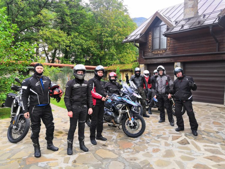 Sochi-Crimea motorcycle tour Rusmototravel September 2019 BMW R1200GS