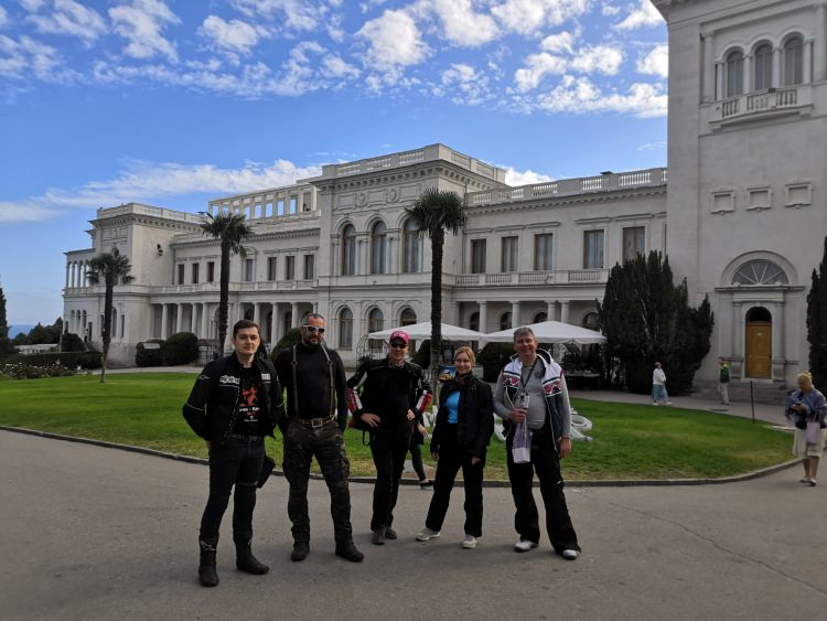 Sochi and Crimea motorcycle tour Rusmototravel, Motorcycle tours in Russia, Livadia Palace