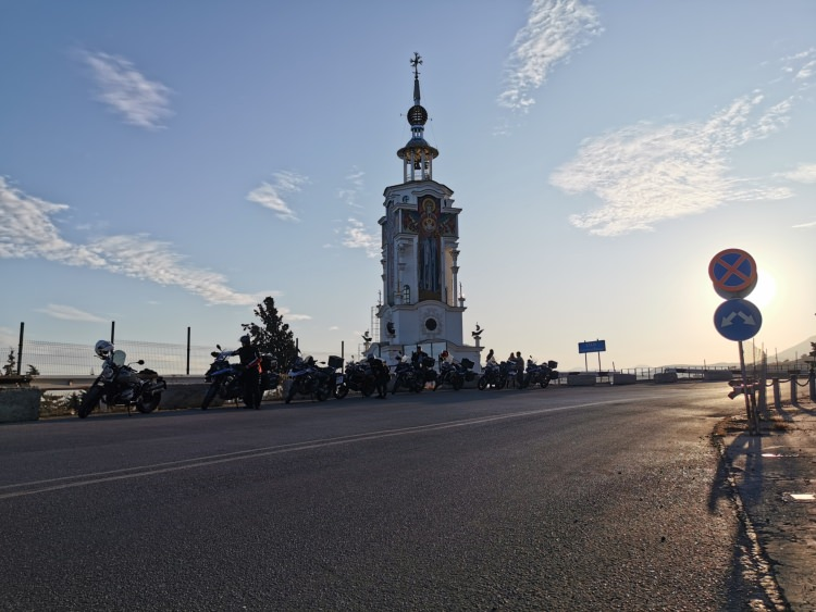 Sochi and Crimea motorcycle tour Rusmototravel, Motorcycle tours in Russia, Sea Men Church